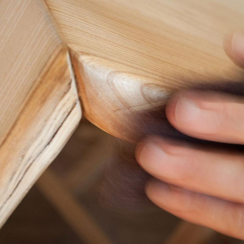 Arteigene Holzbearbeitung