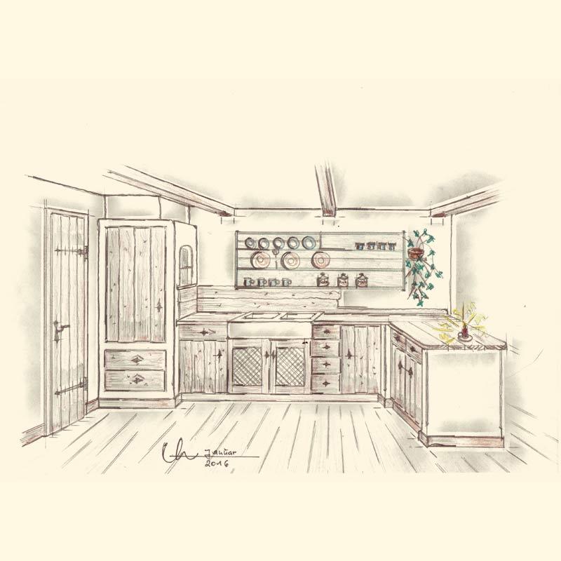 Schreiner Gmund-Tegernsee Küche