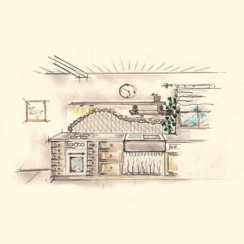 Schreiner Gmund-Tegernsee Küchenzeile