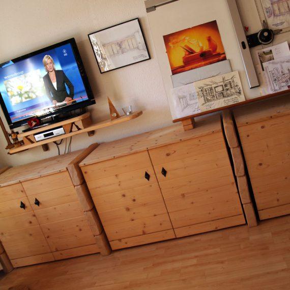TV-Wohnwand