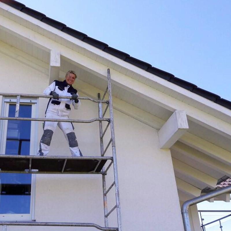 Malermeisterin Susan Menge Fassadenanstrich