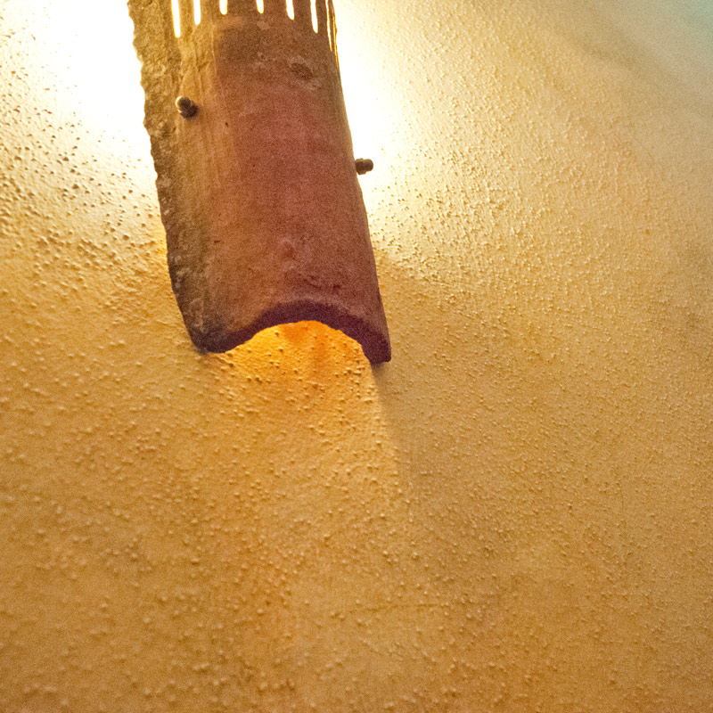 Wand in Lasurtechnik