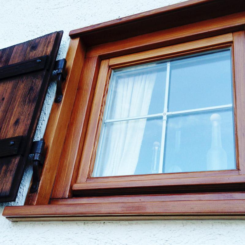 Renovierung Fenster Aussenbereich