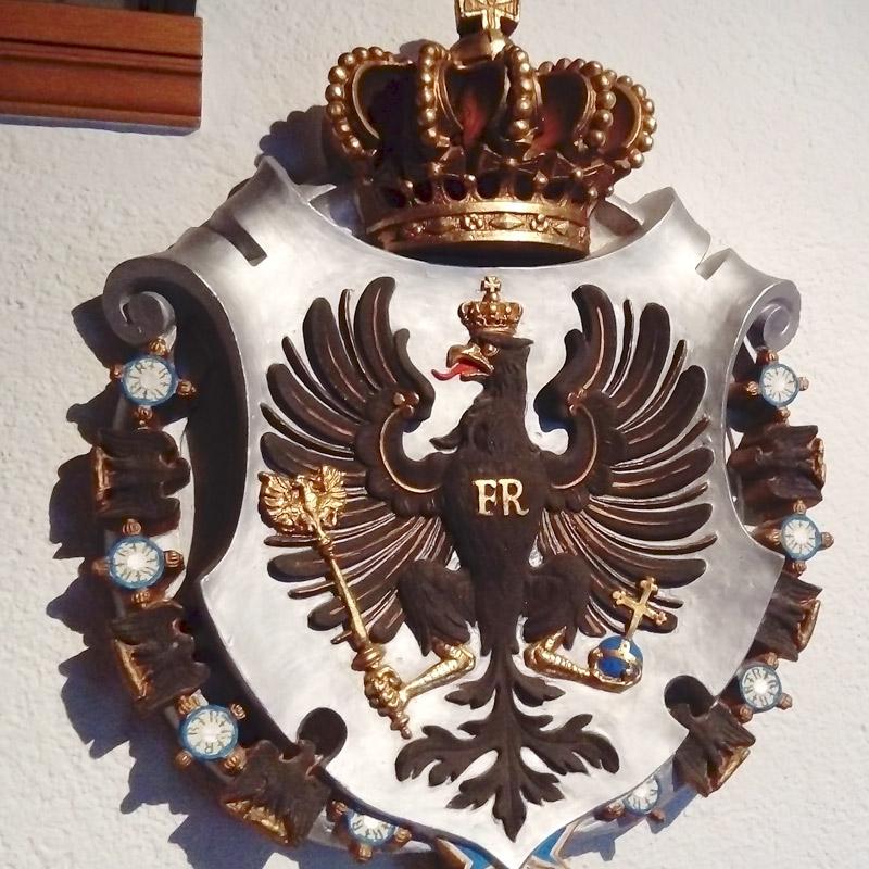 Malermeisterin Susan Menge Restaurierung Wappen