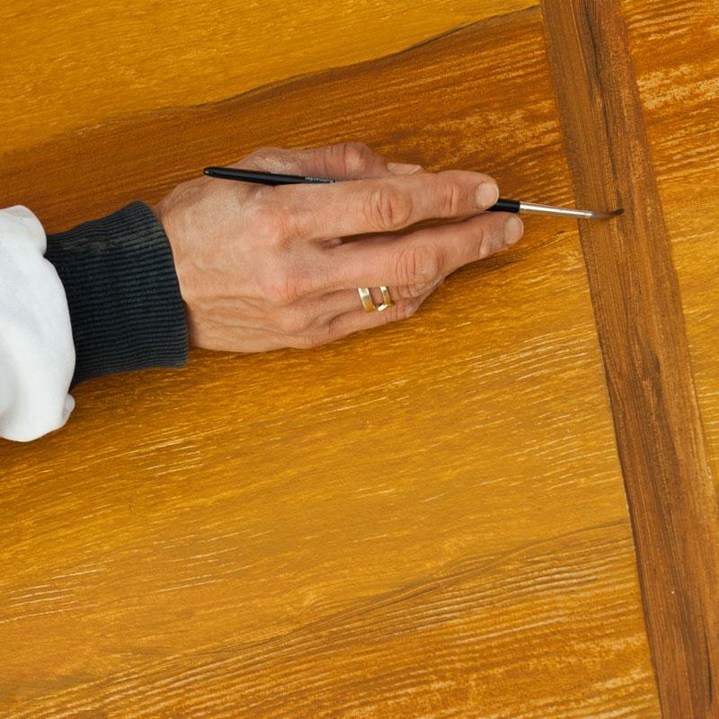 Malermeisterin Susan Menge - Imitationsmalerei Holz
