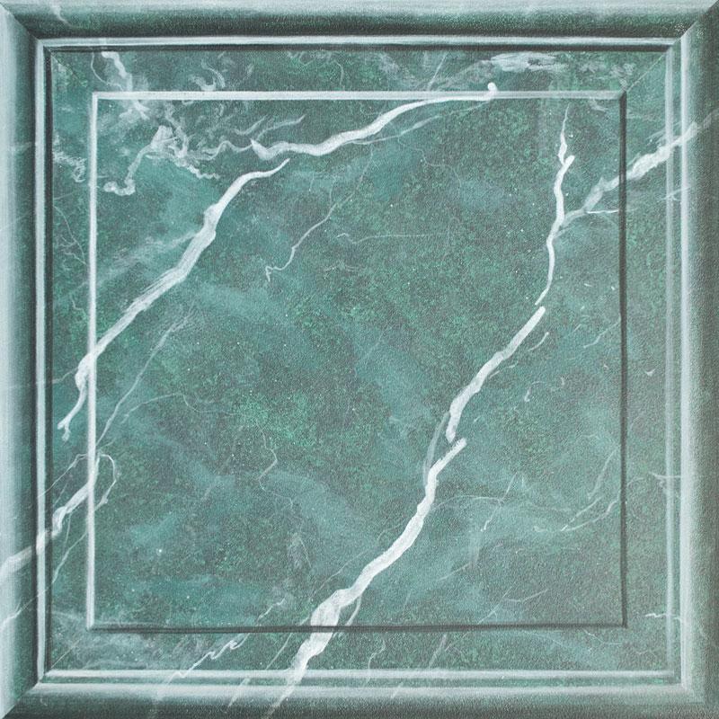Malermeisterin Susan Menge - Illusionsmalerei schwarz-grüner Marmor