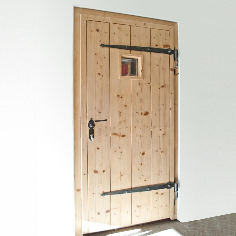 Good Haustüre Fichte Gedämpft Innen