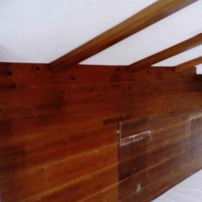 Malermeisterin Menge Renovierung Holz und Putz vorher