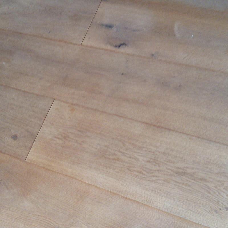 Holz-Fußboden-Renovierung vorher