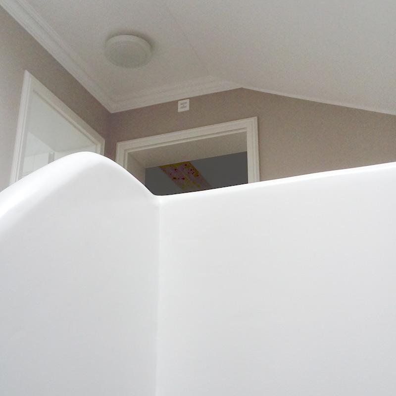 Malermeisterin Menge Treppenhausgestaltung